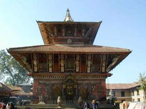 ネパールの寺院