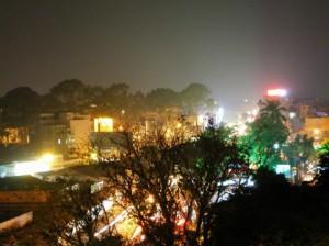 ホーチミン市の夜景